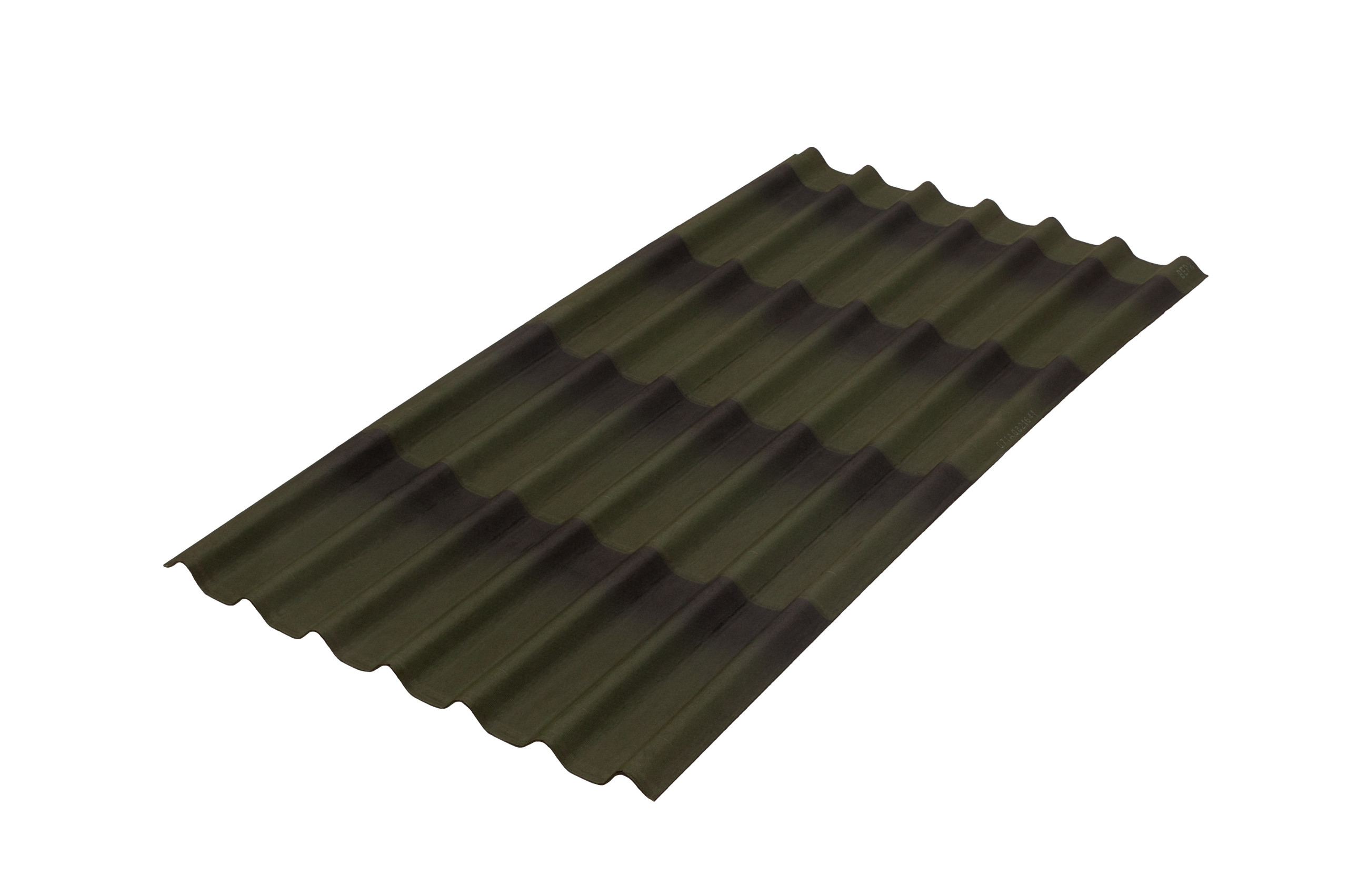 Tole sinh thái Onduline Tile 3D