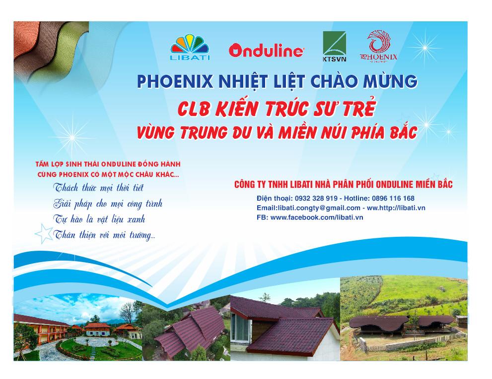 Chào mừng Lễ ra mắt CLB Kiến trúc sư trẻ Vùng trung du và miền núi phía Bắc